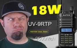 Baofeng UV-9R TP 18-watt Power Testing   UV9R Plus HT