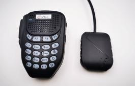 Wireless Bluetooth mic for Yaesu mobile radios FT-7900R/100DR etc
