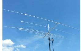 XR4: Compact 8 Element 20m/15m/10m/6m Multi-Mono Yagi