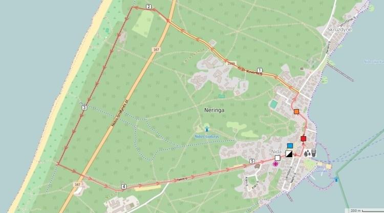 NIDARUN map