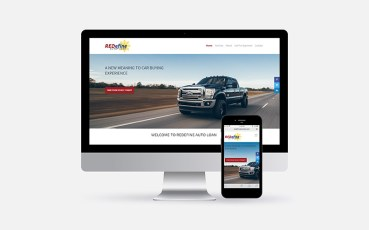 Website Design For Redefine Auto Loan in Edmonton