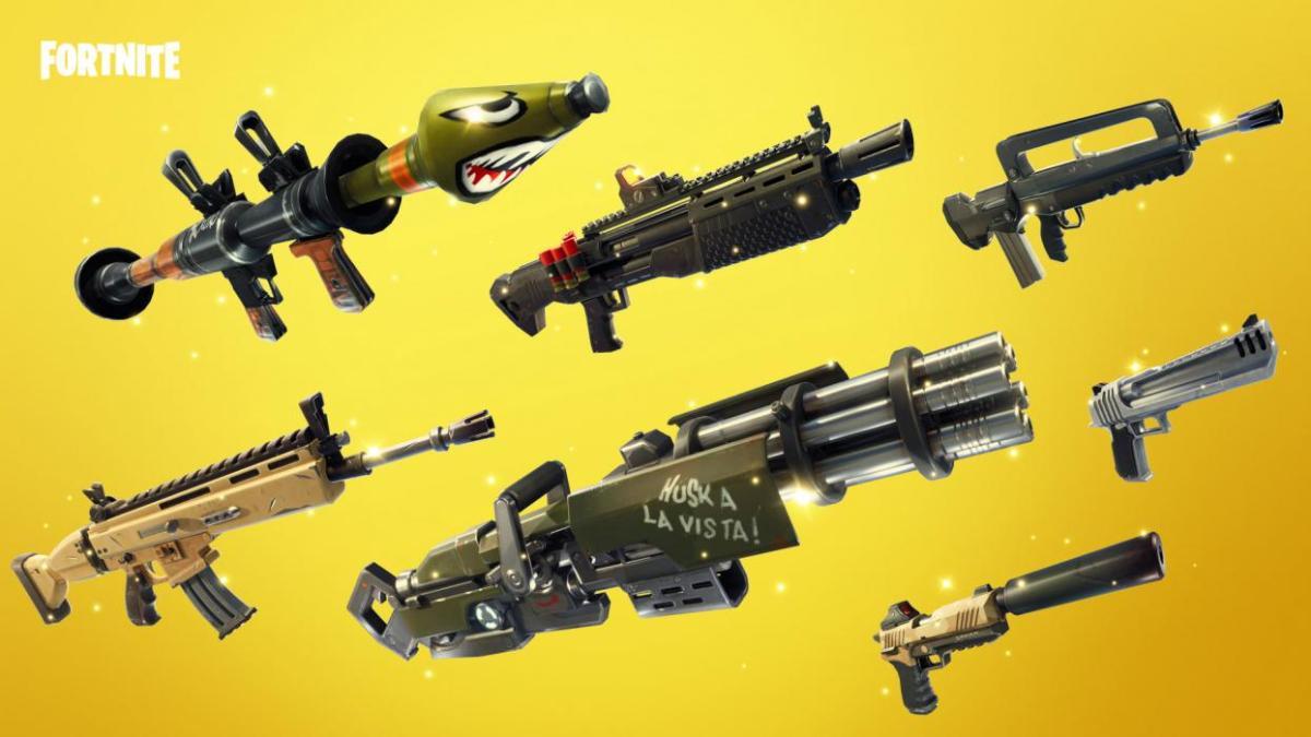 Toda la información sobre las armas de Fortnite, las clases y conoce cuáles son las mejores