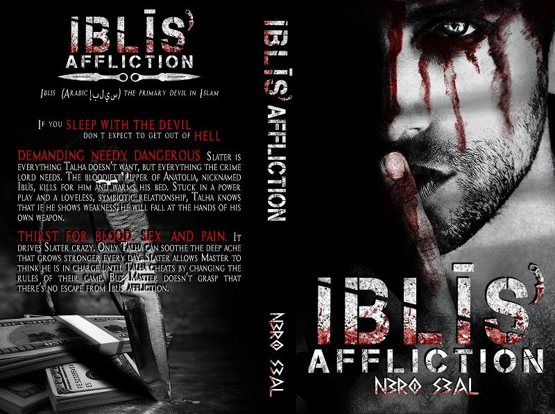 Iblis'Affliction paperback cover
