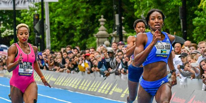 Adidas impulso di giochi per le strade di boston il 19 maggio 20