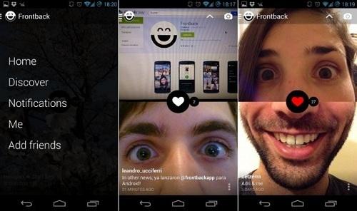aplikasi edit foto android FRONTBACK