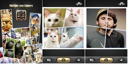 aplikasi edit foto android Multi-lens Camera