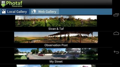 aplikasi edit foto android Photaf Panorama