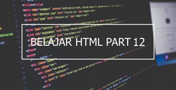Penggunaan Tag kbd, Tag samp, Tag code, dan Tag var di HTML