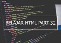 Penggunaan Tag Select dan Optgroup pada Form HTML