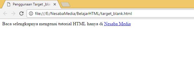 target blank di link
