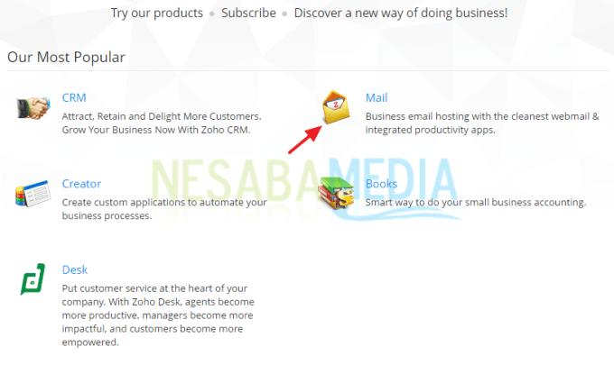 cara membuat email dengan domains sendiri