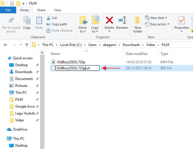 cara download subtitle indonesia