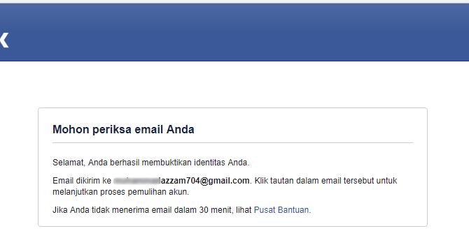 cek email anda