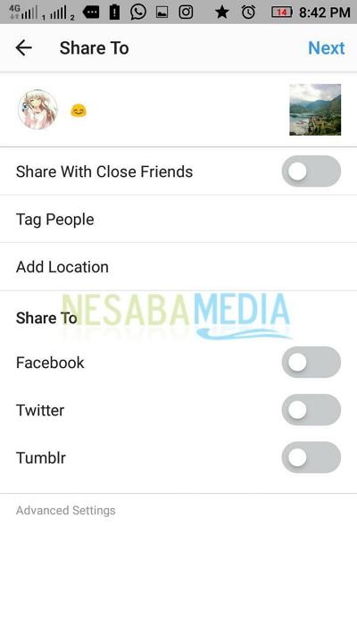 cara repost di instagram dengan mudah