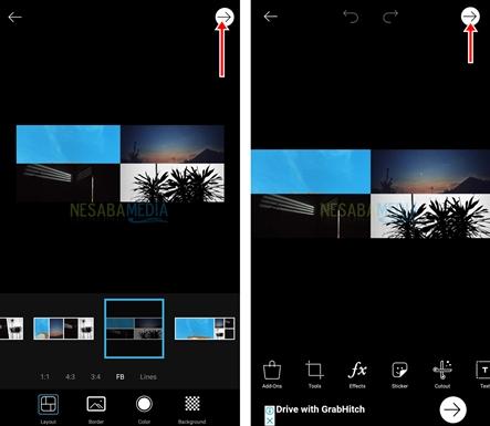 cara menggabungkan foto di HP android
