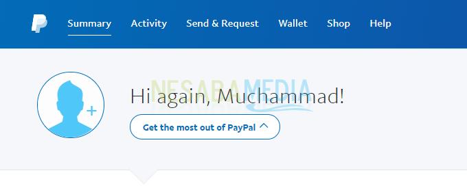 cara membuat PayPal kartu kredit