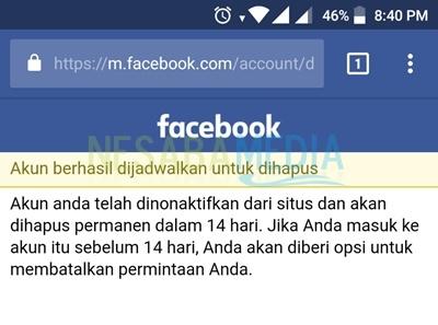 cara memblokir facebook sendiri