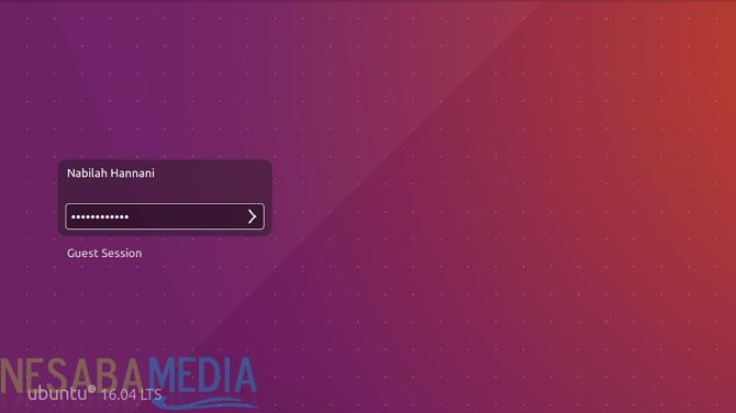 Login Ubuntu