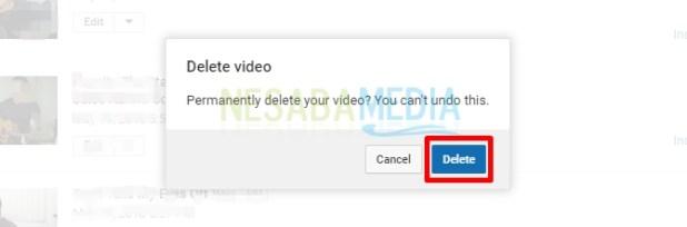 delete conformation