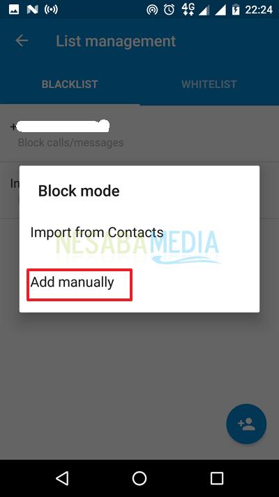 cara blokir nomor hp