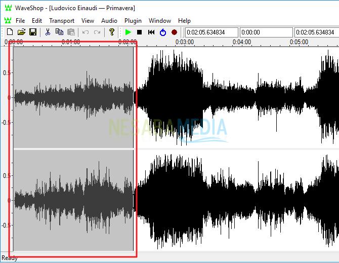 cara memotong lagu