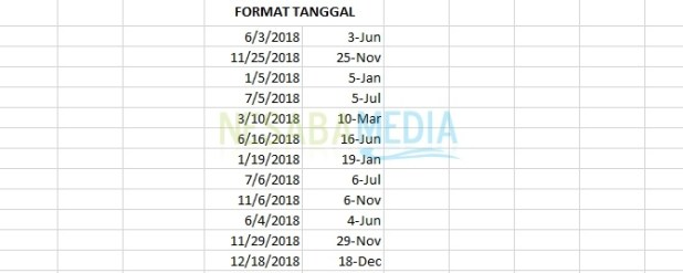 how to change the date format in excel