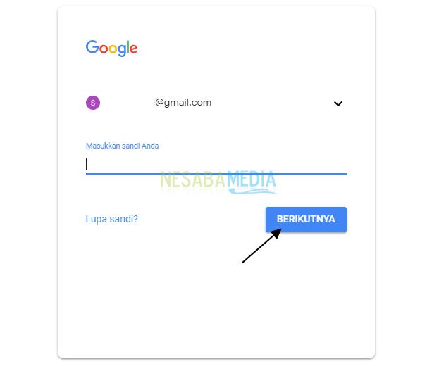 cara mengganti password akun google di android