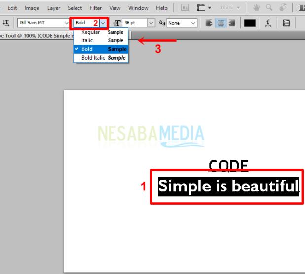 Step b1 - customize format
