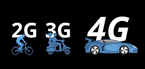 kecepatan 4G