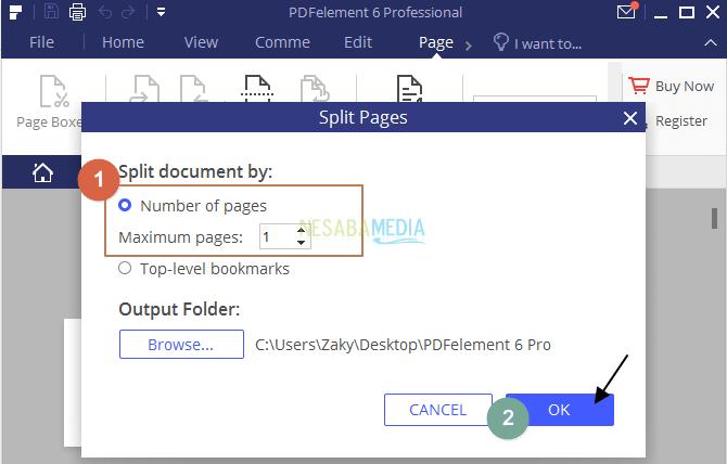 Apowersoft PDF setting