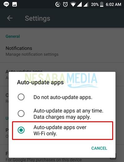 select option auto update