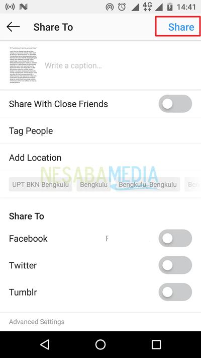 cara menggunakan instagram dengan mudah