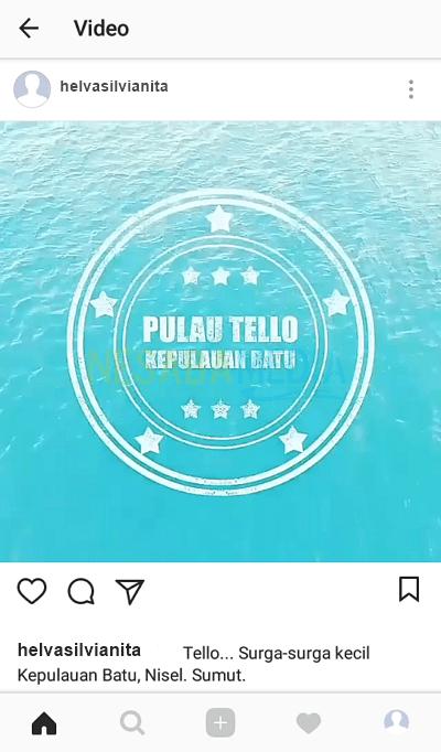 cara repost video di instagram story