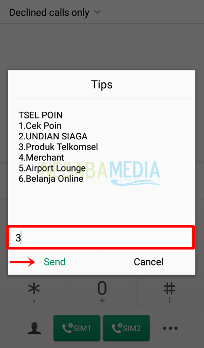 how to exchange Telkomsel points with quota