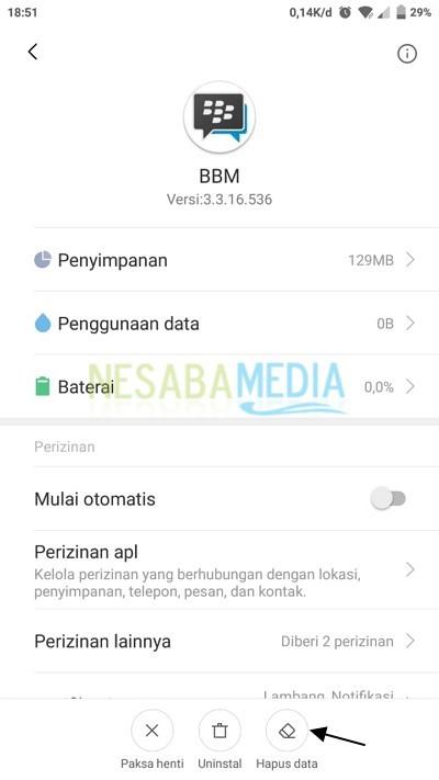 Hapus Data BBM