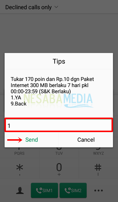 How to exchange Telkomsel points with credit
