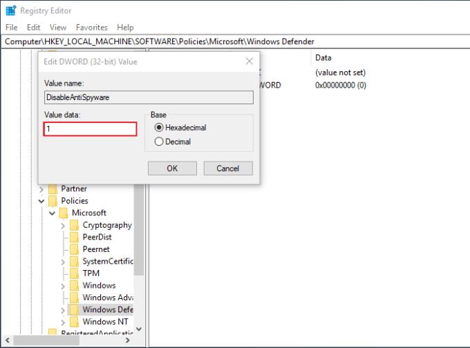 Menonaktifkan Windows Defender di Windows 10 - Step 12