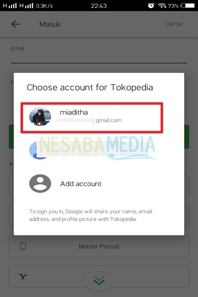 How to open a store in tocopedia