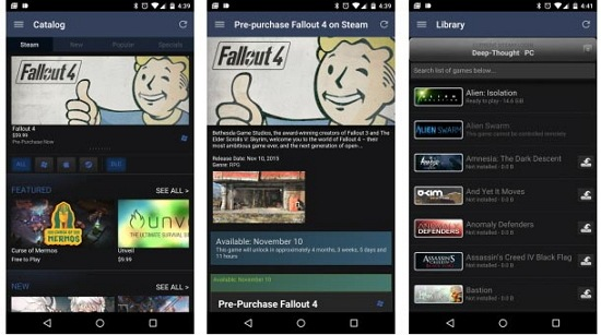Android Steam Download