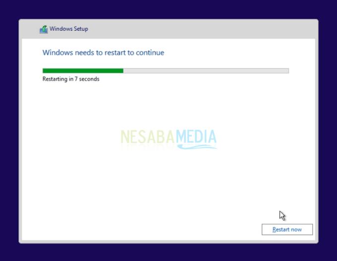 instalasi windows 10 langkah 1