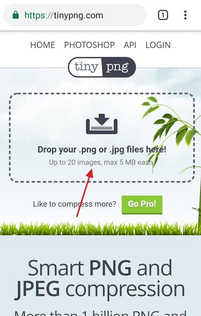 memperkecil ukuran foto di Android 1