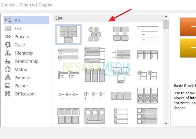 Cara Membuat Bagan di Microsoft Word