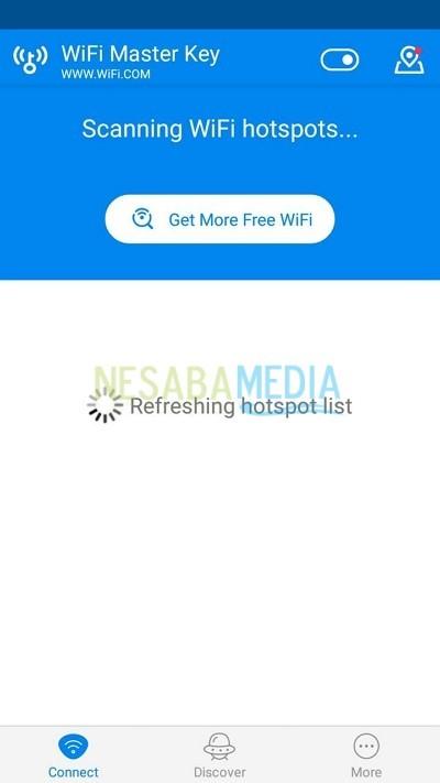 free wifi master key