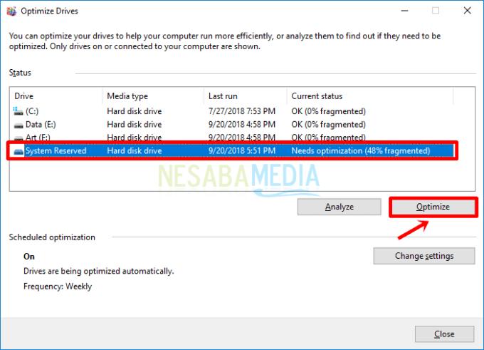 Cara Defrag Harddisk di Windows