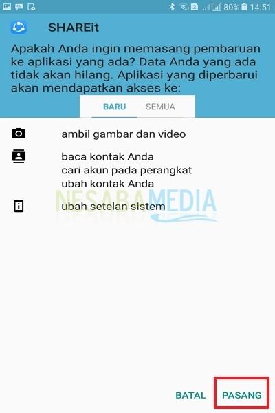 Cara Transfer File dengan SHAREit Melalui Fitur Bluetooth