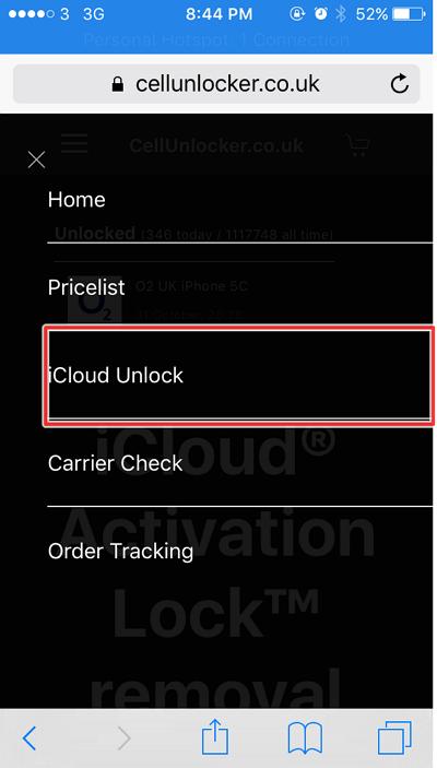 unlock melalui fitur - cara unlock iCloud di iphone