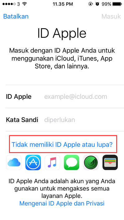 How to Make an Apple ID on the Iphone