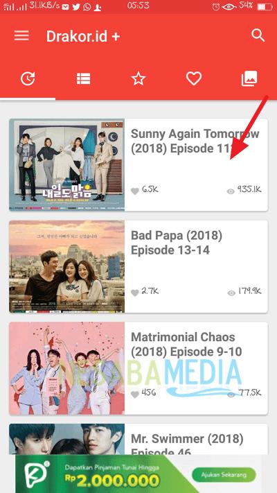 cara download drama korea lewat laptop / komputer dan HP Android