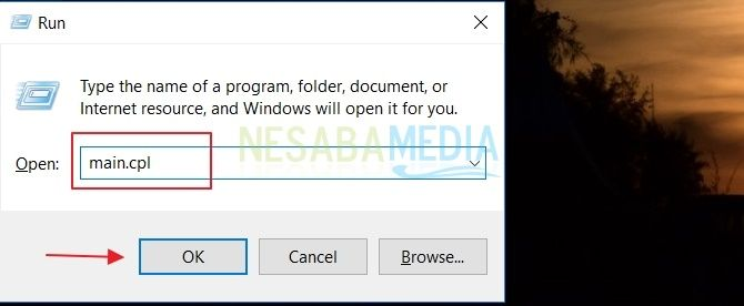 cara mengatur kecepatan double klik mouse di Windows 10