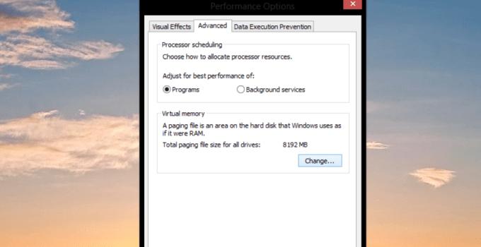 Cara Membersihkan Page File